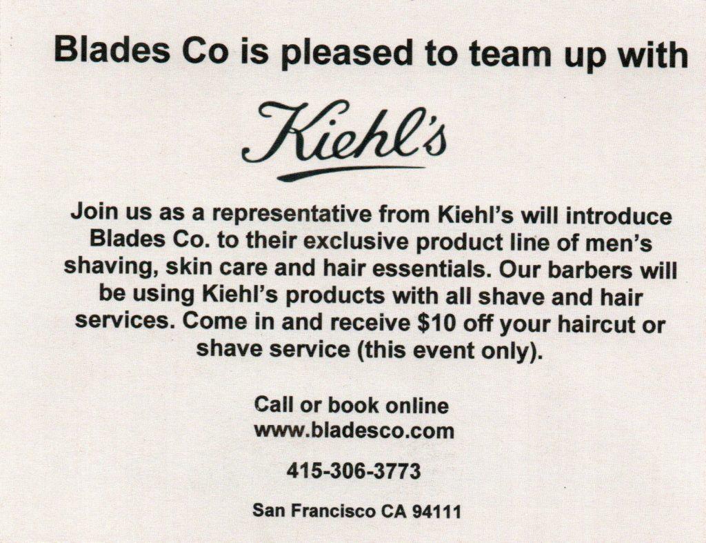 Kiehls Event Invitation